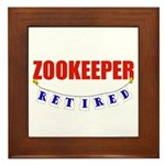 Retired Zookeeper Framed Tile
