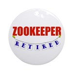 Retired Zookeeper Ornament (Round)