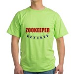 Retired Zookeeper Green T-Shirt
