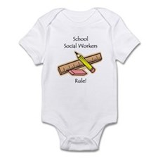 Social Workers Rule Infant Bodysuit