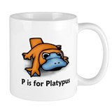P is for Platypus Mug