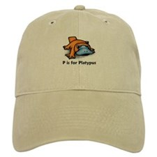 P is for Platypus Baseball Cap