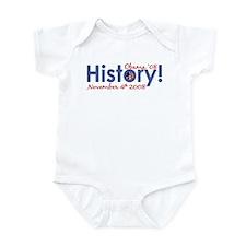 History Obama Wins '08 Onesie