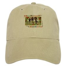 Christmas Ice Skating Scene Baseball Cap
