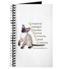 Siamese spelled out Journal