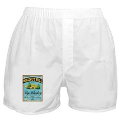 Whiskey Label Boxer Shorts