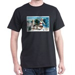 Christmas Tree Children (Front) Dark T-Shirt