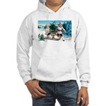 Christmas Tree Children (Front) Hooded Sweatshirt