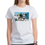 Christmas Tree Children (Front) Women's T-Shirt