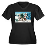 Christmas Tree Children (Front) Women's Plus Size