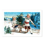Christmas Tree Children Postcards (Package of 8)
