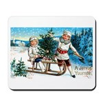 Christmas Tree Children Mousepad