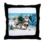Christmas Tree Children Throw Pillow