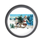 Christmas Tree Children Wall Clock