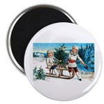 Christmas Tree Children Magnet