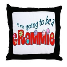 I'm going to be a Grammie Throw Pillow