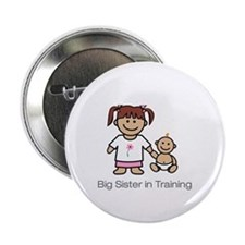 """Big Sister in Training"" Button"