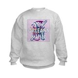 Purple New Orleans Music #2 Sweatshirt