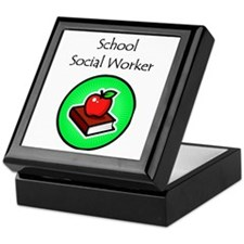 School Social Worker Keepsake Box