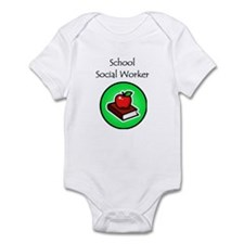 School Social Worker Infant Bodysuit