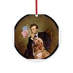 Lincoln & his Golden Keepsake (Round)