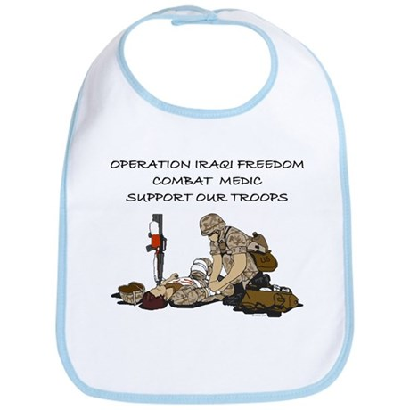 Combat Medic OIF Support Bib