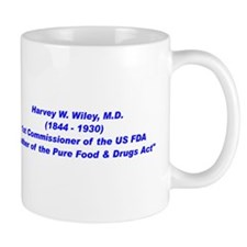 Harvey Wiley FDA Mug