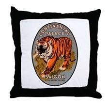 Saigon Vietnam Throw Pillow