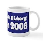 I Voted & Made History! Mug
