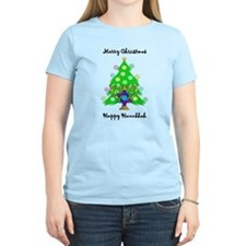 Hanukkah and Christmas Interfaith T-Shirt