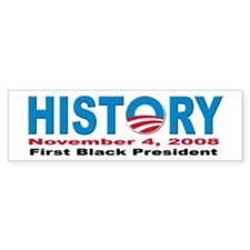 President Obama inauguration Bumper Sticker