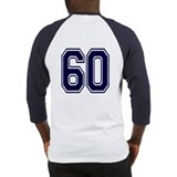 NUMBER 60 BACK Baseball Jersey