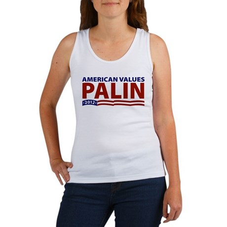 Palin American Values Women's Tank Top