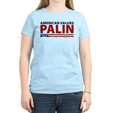 Palin American Values Women's Light T-Shirt