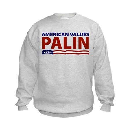 Palin American Values Kids Sweatshirt