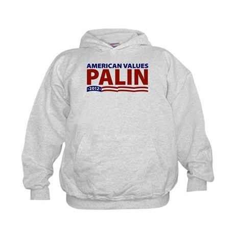 Palin American Values Kids Hoodie