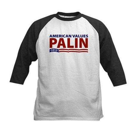 Palin American Values Kids Baseball Jersey