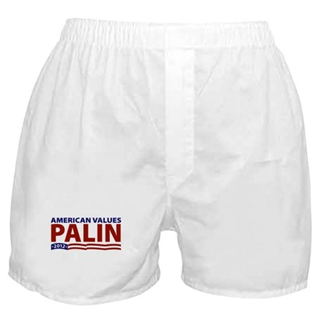 Palin American Values Boxer Shorts