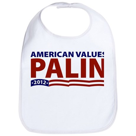 Palin American Values Bib