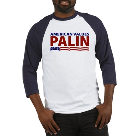 Palin American Values Baseball Jersey
