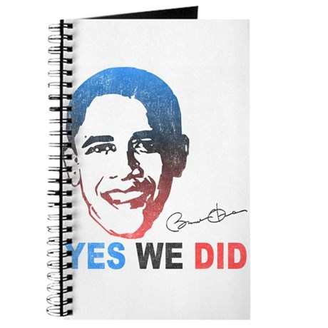 Yes We Did T-Shirt Journal