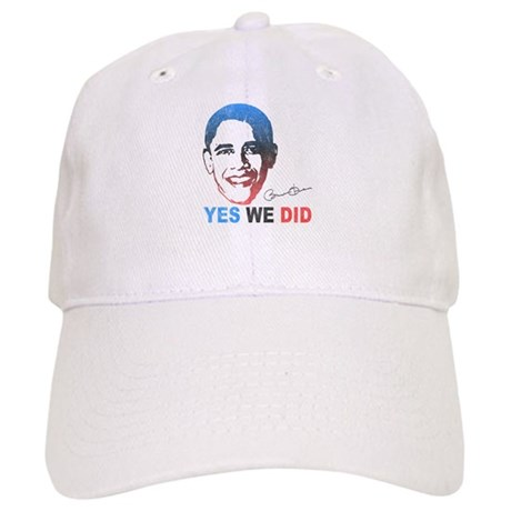 Yes We Did T-Shirt Cap