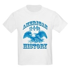 Obama Wins Makes History T-Shirt