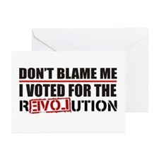 Don't Blame Me <br> Greeting Cards (Pk of 20)
