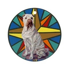 Sharpei Ornament (Round)