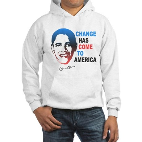 Change Has Come Hooded Sweatshirt