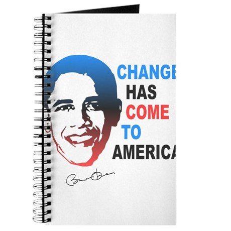 Change Has Come Journal