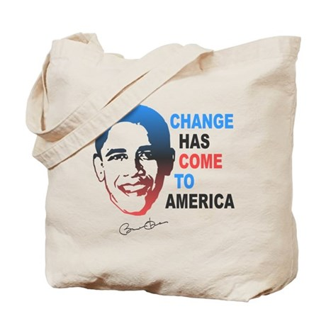 Change Has Come Tote Bag