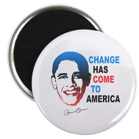 Change Has Come Magnet