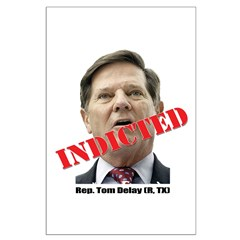 Delay Indicted Posters